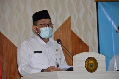Sekda Buka Bintek Trauma Healing Pasca Bencana di Wilayah Provinsi Jambi