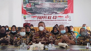 PD V Jambi Peringati HUT FKPPI ke- 43 Rusli Ajak Pewaris Sapta Marga dan Tri  Jadi Garda Depan NKRI