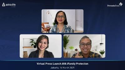 PermataBank dan Astra Life Luncurkan AVA iFamily Protection di PermataMobile X