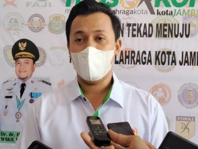 Terpilih Jadi Ketua KONI Kota Jambi, Kadafi Siap Pertahankan Juara Umum Porprov