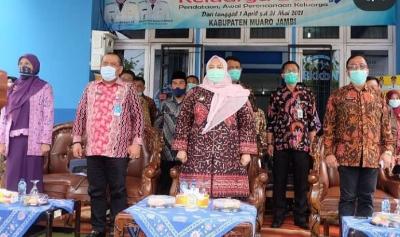 Bupati Muaro Jambi Luncurkan  Pendataan BKKBN