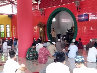 Masjid Cheng Hoo Gelar Shalat Jumat Perdana