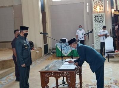Walikota Jambi Fasha Lantik Pejabat Eselon II, III dan IV
