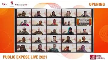 Public Expose LIVE 2021 Targetkan 44.000 Pengunjung Daring