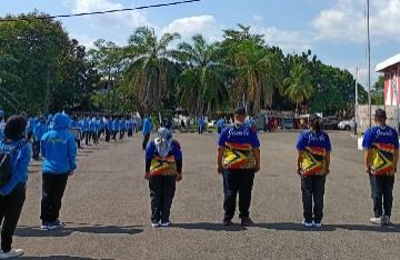 Seragam Kontingen Jambi ke PON XX Papua Dikeluhkan
