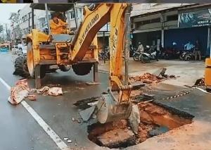 Kadis PUPR Provinsi Jambi Tinjau Langsung Penurunan Oprit Jembatan